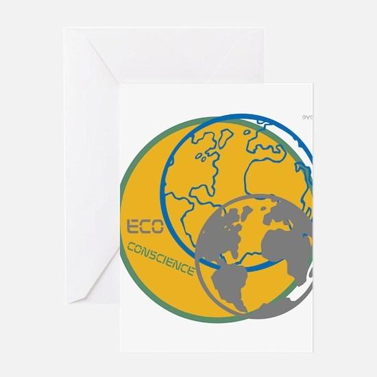 OYOOS Eco Conscience design Greeting Card