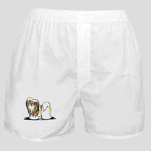 Lhasa Apso Hippie Boxer Shorts