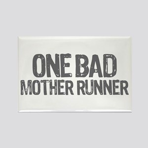 one bad mother runner Rectangle Magnet