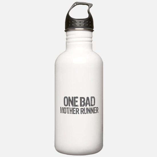 one bad mother runner Water Bottle