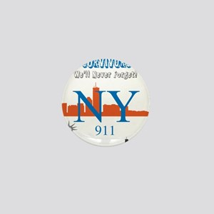 OYOOS NY 911 Liberty design Mini Button