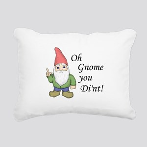 Oh Gnome You Di'nt! Rectangular Canvas Pillow