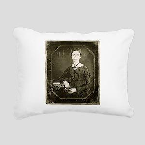 Emily Dickinson Rectangular Canvas Pillow