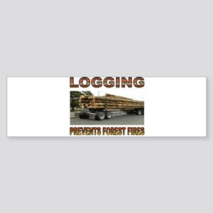 LOGGING Sticker (Bumper)