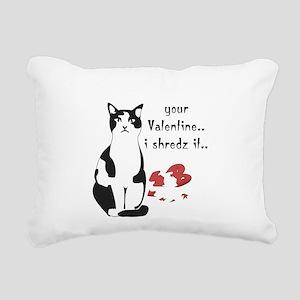 LOL cat Shredz it.. Rectangular Canvas Pillow