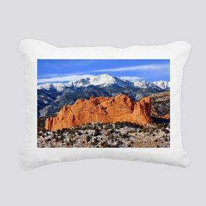 Pikes Peak, Kissing Camels Rectangular Canvas Pill