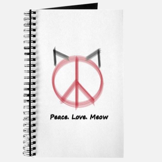 Peace Cat Journal