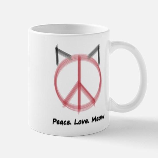Peace Cat Mug