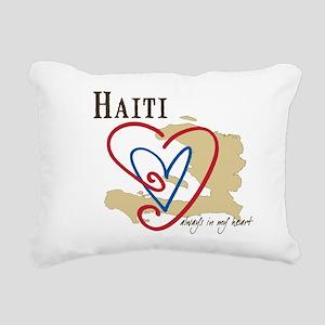 Always In My Heart Rectangular Canvas Pillow