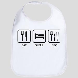 Eat Sleep BBQ Bib