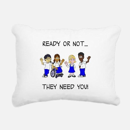 Foster care Rectangular Canvas Pillow