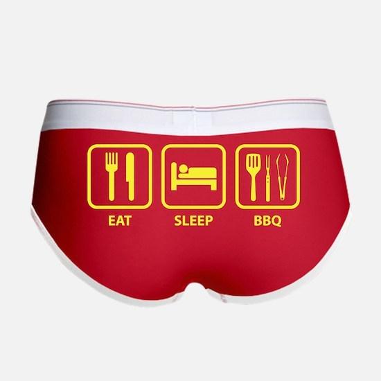 Eat Sleep BBQ Women's Boy Brief
