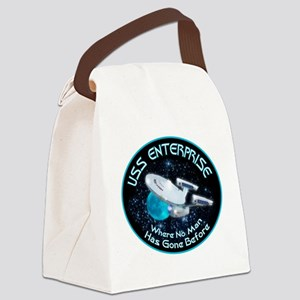 Star Trek Gone Before Canvas Lunch Bag