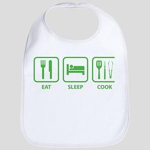 Eat Sleep Cook Bib