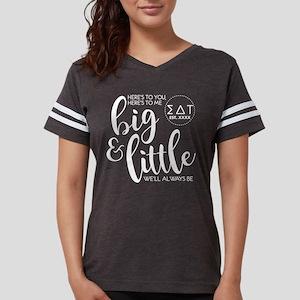 Sigma Delta Tau Big Little P Womens Football Shirt