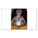 The fortune teller Sticker (Rectangle 50 pk)
