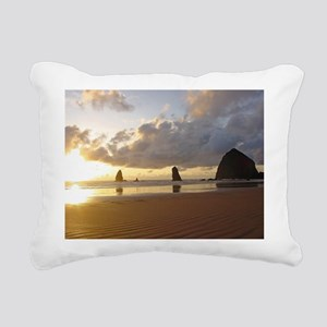 Cannon Beach Rectangular Canvas Pillow