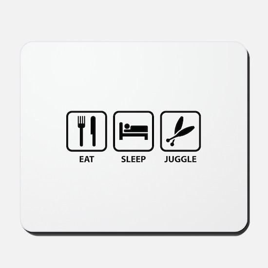 Eat Sleep Juggle Mousepad