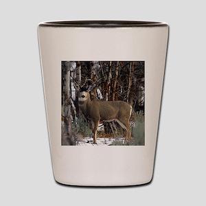 Buck deer Shot Glass