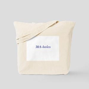 30A-holes Tote Bag