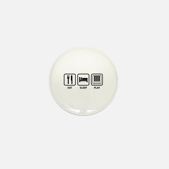 Eat Sleep Play Mini Button
