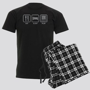 Eat Sleep Play Men's Dark Pajamas