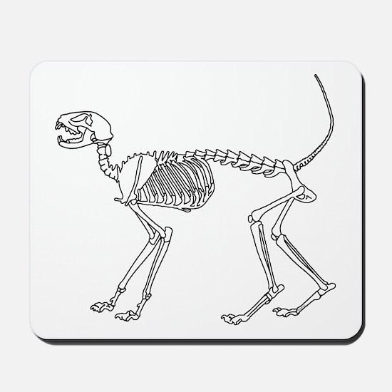 Skelo Cat Mousepad