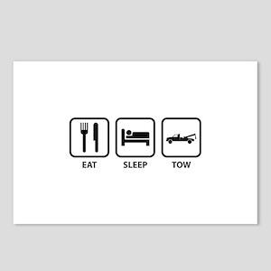 Eat Sleep Tow Postcards (Package of 8)