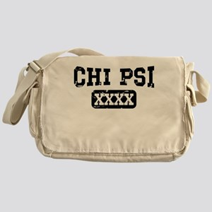 Chi Psi Athletic Personalized Messenger Bag
