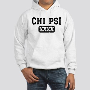 Chi Psi Athletic Personalized Hooded Sweatshirt