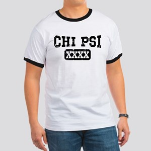 Chi Psi Athletic Personalized Ringer T