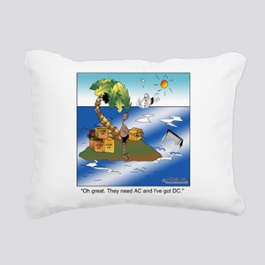 AC/DC Island Rectangular Canvas Pillow