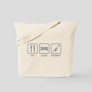 Eat Sleep Trumpet Tote Bag