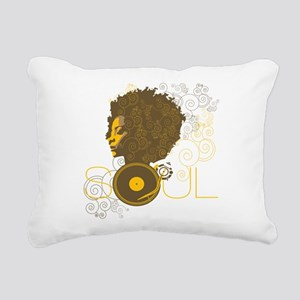 Soul Rectangular Canvas Pillow