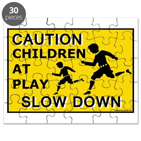 Caution Children At Play (AYS) Puzzle