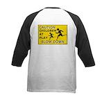 Caution Children At Play (AYS) Kids Baseball Jerse