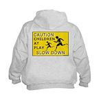 Caution Children At Play (AYS) Kids Hoodie