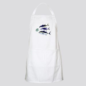 Three Tuna Chase Sardines fish Apron