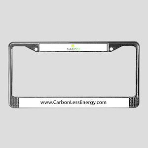 C.L.E.A.N. License Plate Frame ($10)