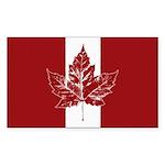 Cool Canada Flag  Sticker (Rectangle 50 pk)