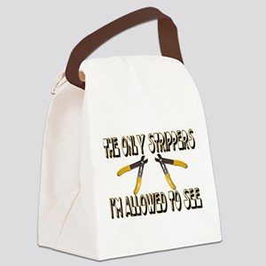 Only Strippers Canvas Lunch Bag
