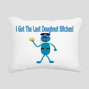Last Donut Rectangular Canvas Pillow