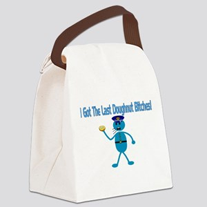 Last Donut Canvas Lunch Bag
