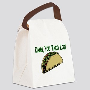 Taco Lot Canvas Lunch Bag