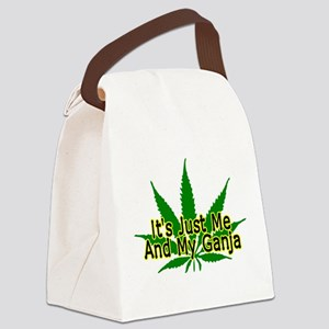 Me And My Ganja Canvas Lunch Bag