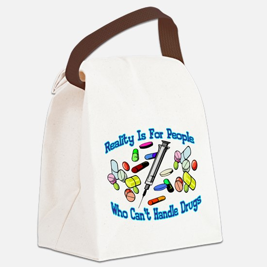 Reality Is For People Canvas Lunch Bag