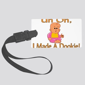 Made A Dookie Large Luggage Tag