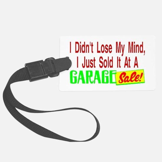 Garage Sale Luggage Tag