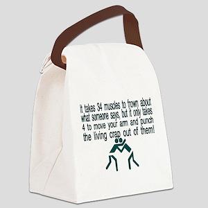 Living Crap Canvas Lunch Bag
