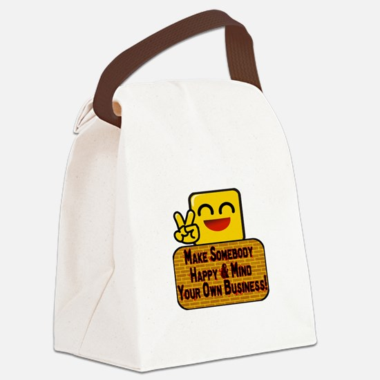 Mind Your Business Canvas Lunch Bag